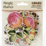 Floral Bits & Pieces Die-Cuts - Simple Vintage Garden District - Simple Stories