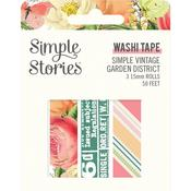 Washi Tape - Simple Vintage Garden District - Simple Stories