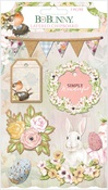 Garden Grove Layered Chipboard Stickers - Bo Bunny