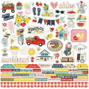 Combo Stickers - Summer Farmhouse - Simple Stories