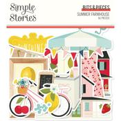 Bits & Pieces Die-Cuts - Summer Farmhouse - Simple Stories
