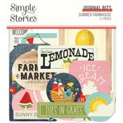 Journal Bits & Pieces Die-Cuts - Summer Farmhouse - Simple Stories