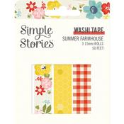 Washi Tape - Summer Farmhouse - Simple Stories