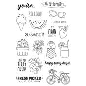 Summer Farmhouse Photopolymer Clear Stamps - Simple Stories