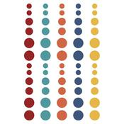 Bro & Co. Enamel Dots Embellishments - Simple Stories