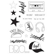 Bro & Co. Clear Stamps - Simple Stories