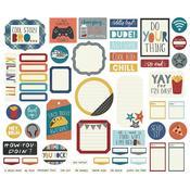 Journal Bro & Co. Bits & Pieces Die-Cuts - Simple Stories - PRE ORDER