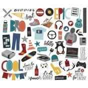 Bro & Co. Bits & Pieces Die-Cuts - Simple Stories - PRE ORDER