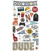 Bro & Co. Chipboard Stickers - Simple Stories - PRE ORDER