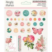 Decorative Brads - Simple Vintage Garden District  - Simple Stories