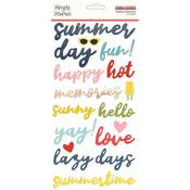 Foam Stickers - Summer Farmhouse - Simple Stories