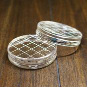 Round Acrylic Grid Stamping Block - Catherine Pooler