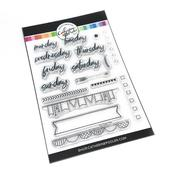 Daily Plan Stamp Set - Catherine Pooler