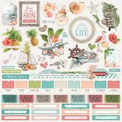 Combo Sticker - Simple Vintage Coastal - Simple Stories - PRE ORDER
