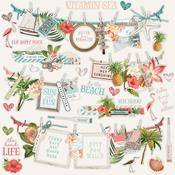 Banners Sticker - Simple Vintage Coastal - Simple Stories