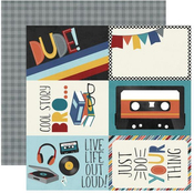 4 X 6 Elements Paper - Bro & Co - Simple Stories - PRE ORDER
