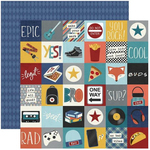 2 X 2 Elements Paper - Bro & Co - Simple Stories - PRE ORDER