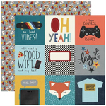 4 X 4 Elements Paper - Bro & Co - Simple Stories - PRE ORDER