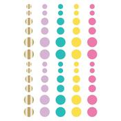 Magical Birthday Enamel Dots Embellishments - Simple Stories