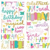 Magical Birthday Foam Stickers - Simple Stories