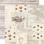Sandy Toes Paper - Simple Vintage Coastal - Simple Stories