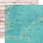 On Island Time Paper - Simple Vintage Coastal - Simple Stories