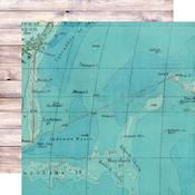 On Island Time Paper - Simple Vintage Coastal - Simple Stories - PRE ORDER