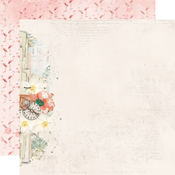 Let's Get Lost Paper - Simple Vintage Coastal - Simple Stories - PRE ORDER