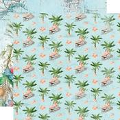 Tropical Life Paper - Simple Vintage Coastal - Simple Stories - PRE ORDER