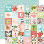 "Elements 2""X2"" Paper - Simple Vintage Coastal - Simple Stories - PRE ORDER"