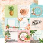 "Elements 4""X4"" Paper - Simple Vintage Coastal - Simple Stories"