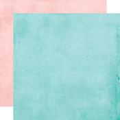 Ocean/Coral Simple Basics Paper - Simple Vintage Coastal - Simple Stories - PRE ORDER