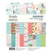 """Simple Vintage Coastal 6""""X8"""" Paper Pad - Simple Stories - PRE ORDER"""
