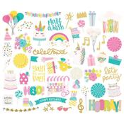 Magical Birthday Bits & Pieces Die-Cuts - Simple Stories