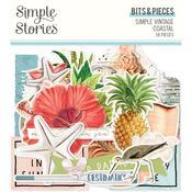 Bits & Pieces Die-Cuts - Simple Vintage Coastal - Simple Stories - PRE ORDER