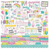 Magical Birthday Combo Sticker Sheet - Simple Stories - PRE ORDER