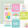 4 X 4 Elements Paper - Magical Birthday - Simple Stories - PRE ORDER