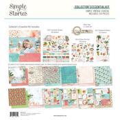 Collector's Essential Kit - Simple Vintage Coastal - Simple Stories - PRE ORDER