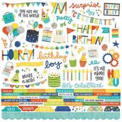 Combo Stickers - Birthday Blast - Simple Stories - PRE ORDER