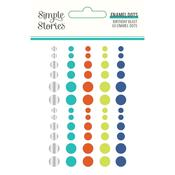 Birthday Blast Enamel Dots - Simple Stories