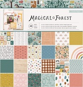 Magical Forest 12 x 12 Paper Pad - Crate Paper
