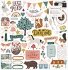 Magical Forest Chipboard Stickers - Crate Paper