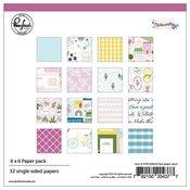 Noteworthy 6 x 6 Paper Pack - Pinkfresh