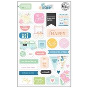 My Favorite Story Puffy Stickers - Pinkfresh - PRE ORDER