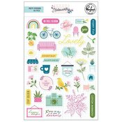 Noteworthy Puffy Stickers - Pinkfresh