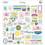 Noteworthy Ephemera Pack - Pinkfresh