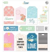 My Favorite Story Cardstock Tags - Pinkfresh