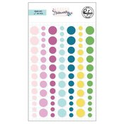 Noteworthy Enamel Dots - Pinkfresh