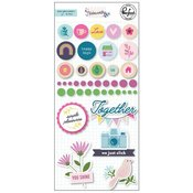 Noteworthy Mixed Embellishment Pack - Pinkfresh