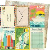 Lost In Paradise Paper - Let's Wander - Vicki Boutin